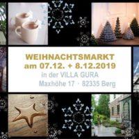 Klein und exklusiv: Weihnachtsmarkt in der Villa Gura