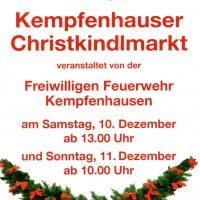 Christkindlmarkt in Kempfenhausen