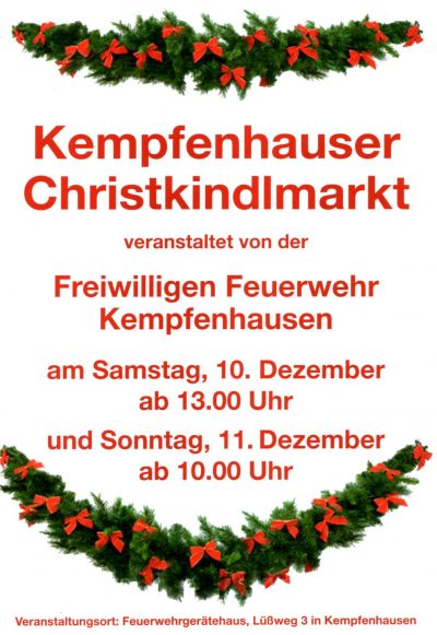 Christkindlmarkt Kempfenhausen