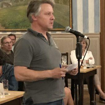Live von der Bürgerversammlung: Andreas Eberl