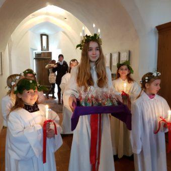 Die heilige Lucia in Aufkirchen
