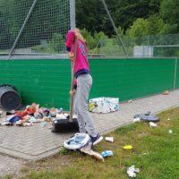 Vandalismus in Berg Nord