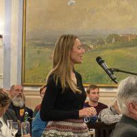 Live von der Bürgerversammlung: Maria Wendisch aus Farchach