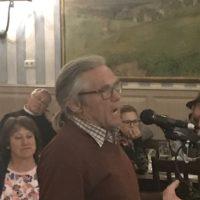 Live aus der Bürgerversammlung: Gerhard Fidelius/Mörlbach