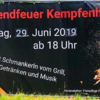 Sonnwendfeier in Kempfenhausen