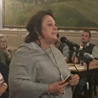 Live von der Bürgerversammlung 2019: Andrea Schwenski / Mörlbach