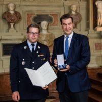 Bayerische Rettungsmedaille an Christian Ebert