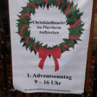 Christkindlmarkt im Pfarrheim Aufkirchen