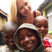 Marie Habdank und die Schule in Nairobi