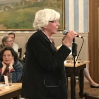 Live von der Bürgerversammlung: Frau Preissler