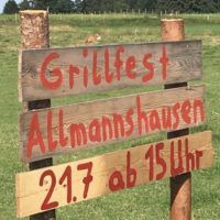 Grillfest in Allmannshausen, Sommerfest in Farchach