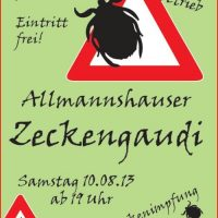 Morgen Zeckengaudi