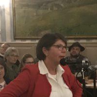 Live von der Bürgerversammlung 2019: Angela Schuster / Berg