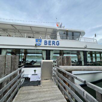 Immer eine Handbreit Wasser unterm Kiel: die EMS Berg wurde getauft