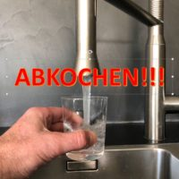 Hereingeregnete Bakterien: Trinkwasser vorsorglich abkochen!