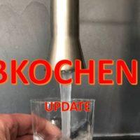 Update: Hereingeregnete Bakterien: Trinkwasser vorsorglich abkochen!