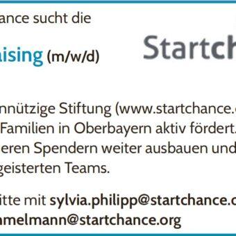 Die Stiftung Startchance bietet einen Minijob