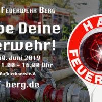"""""""Erlebe Deine Feuerwehr!""""  Aktionstag 2019 – Feuerwehr Berg"""