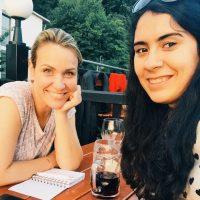 Asyl in Berg: Verena und Seran - eine enge Freundschaft