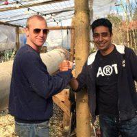 Asyl in Berg: Osterspaziergang zur Berger Burschenschaft