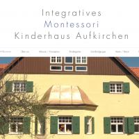 Das Montessori Kinderhaus Aufkirchen im neuen Netzgewand