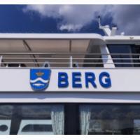 """Hereinschwimmende Nachricht: Das neue Schiff auf dem See wird den Namen """"EMS Berg"""" tragen"""