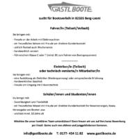 Jobs bei GastlBoote