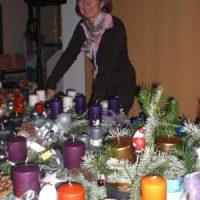 Advent, Advent der Schulhof ... leuchtet