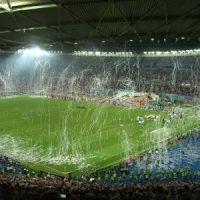Bilder vom Fußballfinale