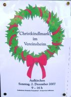 Christkindlmärkte in Berg