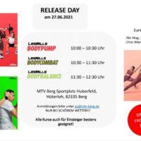 Sonntagssport? LesMills Release Day