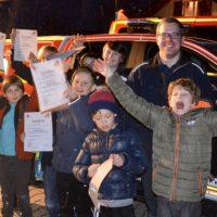 Erste-Hilfe-Kurs der Kinderfeuerwehr Kempfenhausen