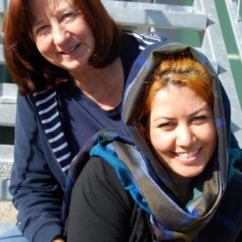 Asyl in Berg – eine neue Serie: Paten-Paare – 1 – Roma und Renate