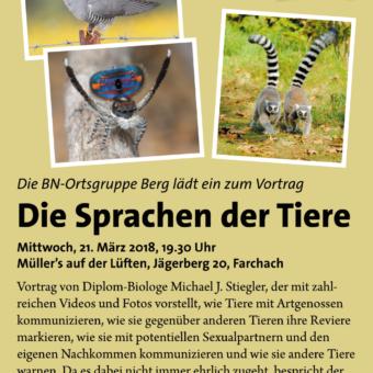 Vortrag: Die Sprachen der Tiere
