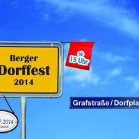 Das 27. Berger Dorffest