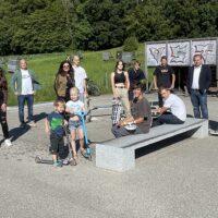 Zuwachs für die Berger Skateranlage