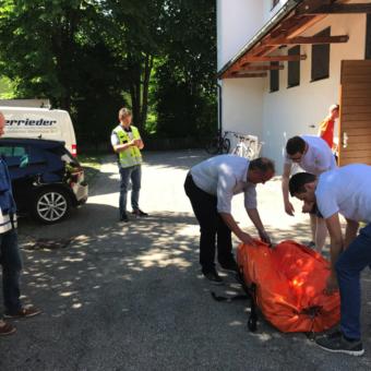 Agil, wenn's brennt: BMW bei der Freiwilligen Feuerwehr Berg