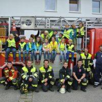 Ferien bei der Feuerwehr