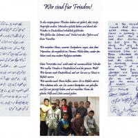 Berger Asylbewerber verfassen erneut Schreiben