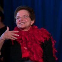 Maria Fiedler wird verabschiedet