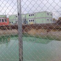 Im Augenschein: das neue Containerdorf