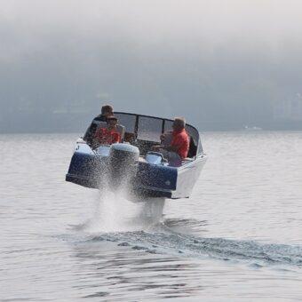 Unbekanntes Flugobjekt auf dem Starnberger See