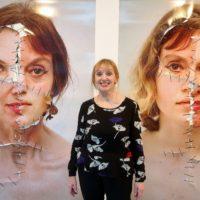 Zart und doch brutal: Annegret Soltau in der Haleh Gallery