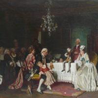 Adventsstunde in der Galerie Wimmer
