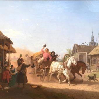 Ettal, Moskau, Berg: Ausstellung in der Berger Galerie Wimmer