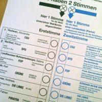 Sie haben 2 Stimmen (Wahlempfehlung pt. 5)