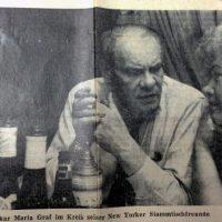 """120 Jahre """"Provinzschriftsteller"""" Oskar Maria Graf"""