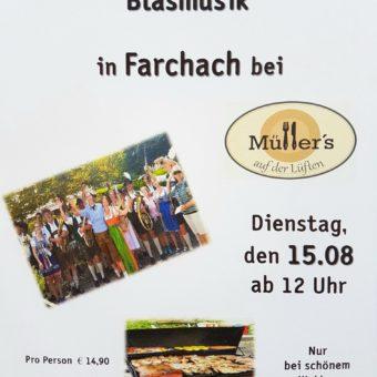 Zum 5. Mal: Grillfest in Farchach