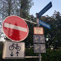 Was lange währt: Ende der Bäckergasse für Radfahrer in beide Richtungen offen