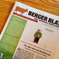"""Aktuelle Nachrichten: das """"Berger Blatt"""" ist wieder da!"""